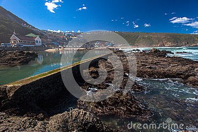 Tidal Pool Rocks Ocean