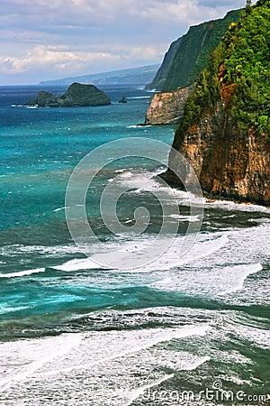 Tide of the ocean