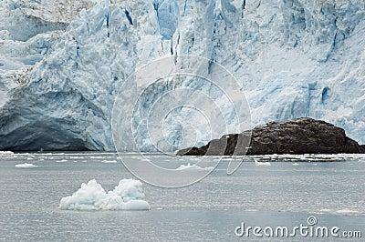 Tidewater glacier in Alaska