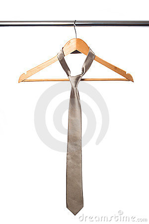 Tie and coat hanger