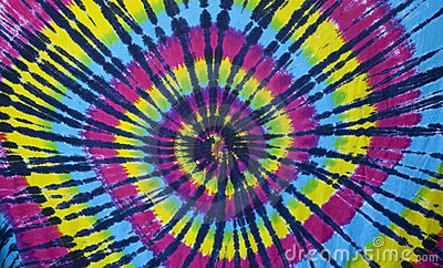 Tie dye cloth