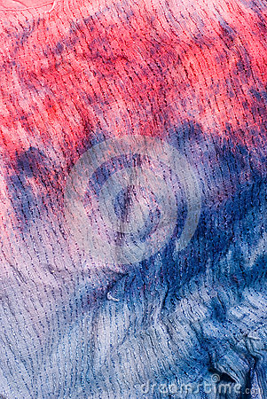 Tie-dye fabric