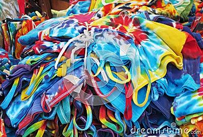 Tie dye items