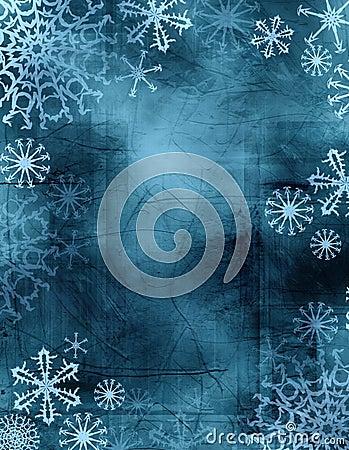 Free Tie-dye Snowflakes Stock Image - 931761
