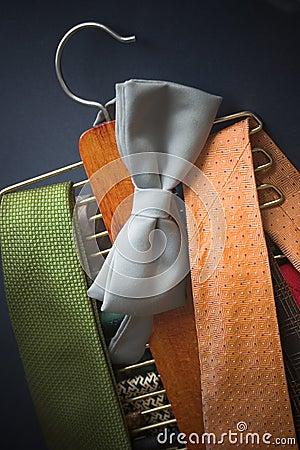 Free Tie Rack Royalty Free Stock Photos - 27528