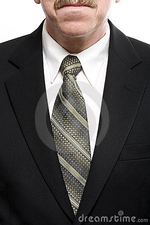 Tie and suit jacket