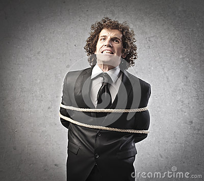 Tied Businessman