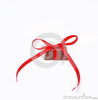 Tied knot chocolate