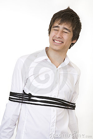 Tied Up In A Rope Stock Images - Image: 920784