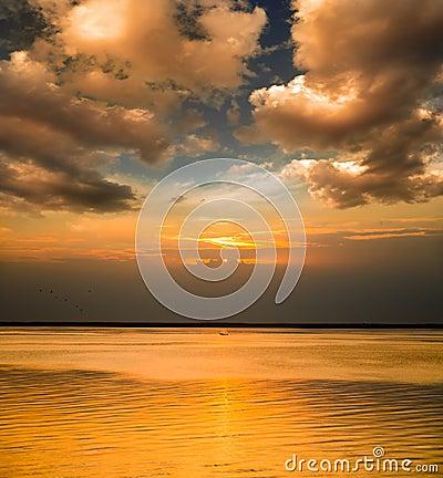Tiempos de la puesta del sol