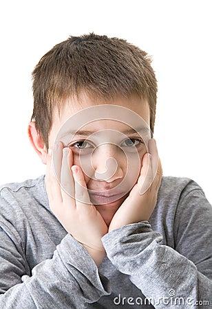 Tien jaar oude jongen stock foto 39 s afbeelding 18084893 - Kamer jaar oude jongen ...