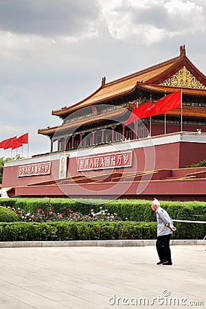 Tienanmen Gate Editorial Photography