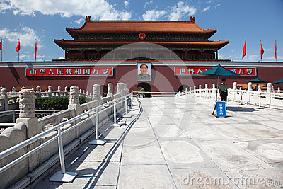 Tienanmen Gate (The Gate of Heavenly Peace) th Editorial Image