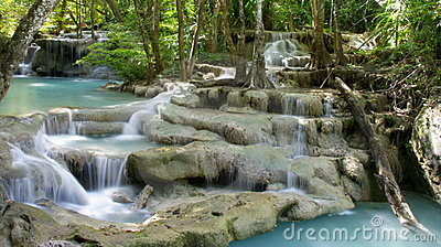 Tiered waterfall