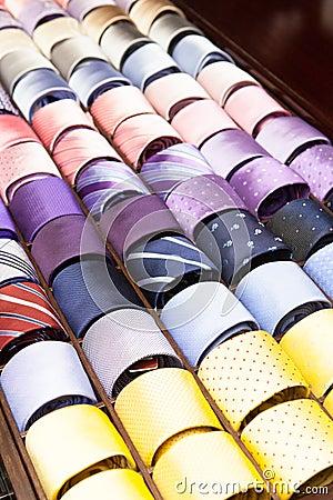 Free Ties On Display Stock Photo - 32339810
