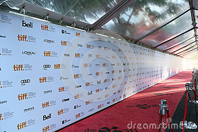TIFF Red Carpet Editorial Stock Image