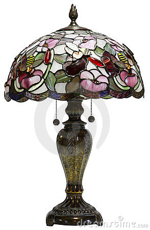 Free Tiffany Glass Table Lamp Stock Photos - 2343943