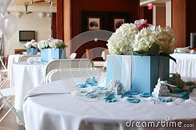 Tiffany style wedding