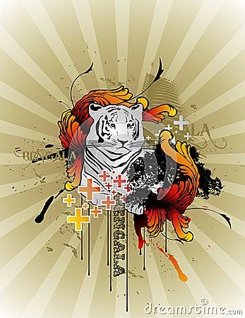 Tiger  composition