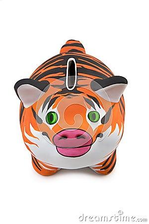 Tiger fur.