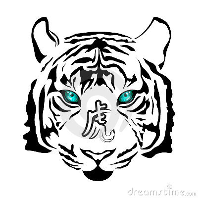 Tiger Head Royalty Free Stock Image - Image: 11300696