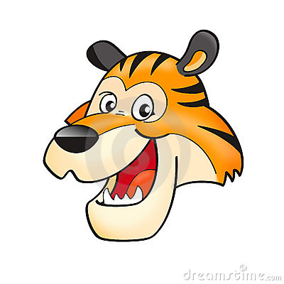 Free Tiger Head Royalty Free Stock Images - 8265259