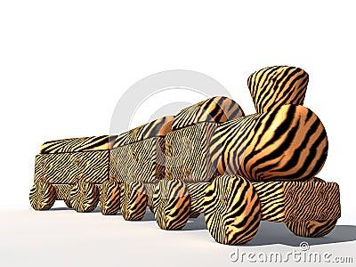 Tiger Skin train