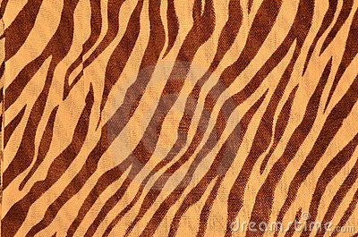 Tiger style fabric