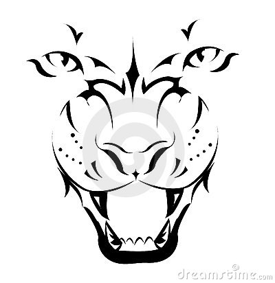 Free Tiger, Tattoo Stock Images - 16988804