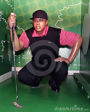 Tiger Woods Editorial Photo