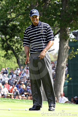 Tiger Woods Editorial Stock Image