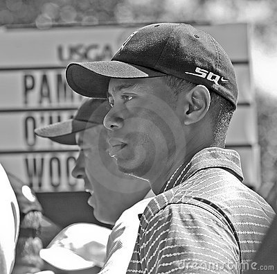 Free Tiger Woods At The 2006 US Open Stock Images - 12083704