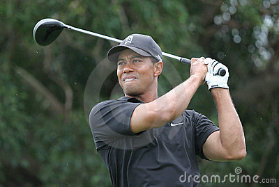 Tiger woods Doral 2007 Editorial Stock Image