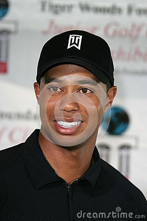 Tiger Woods Editorial Stock Photo