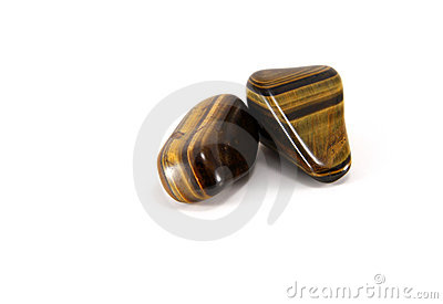 Tigers eye gem stones
