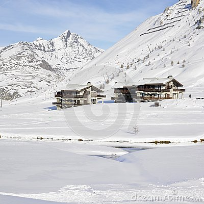 Tignes-le-Lac, Alps