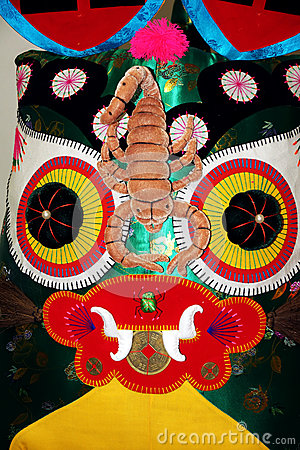 Tigre de pano Imagem Editorial