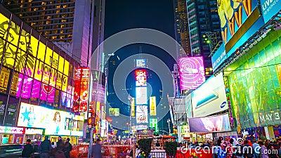 Tijden vierkant New York