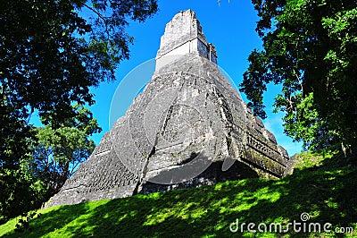 Tikal Ancient Maya Temple, Guatemala