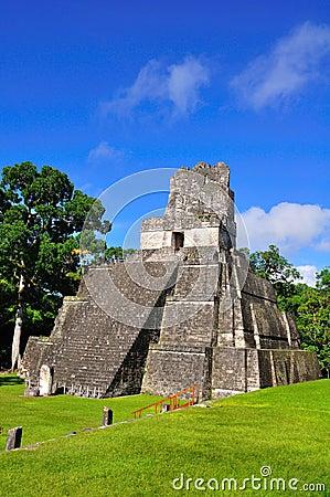 Free Tikal Ancient Maya Temple, Guatemala Royalty Free Stock Photos - 16416558
