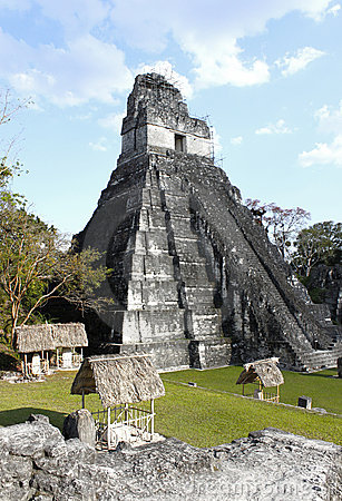 Tikal Temple 1