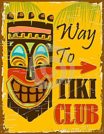 Free Tiki Club Stock Photography - 25497092