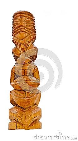 Free Tiki Idol Stock Photo - 21857410