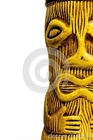 Free Tiki Man Ceramic Sculpture Stock Photos - 40783