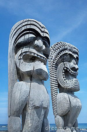 Free Tikis Royalty Free Stock Photo - 324225