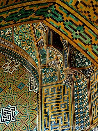 Tile art, Iran
