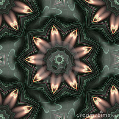 Tile Flower Abstract