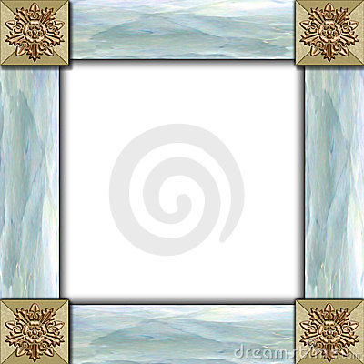 Free Tile & Mother Of Pearl Frame Stock Photos - 507823