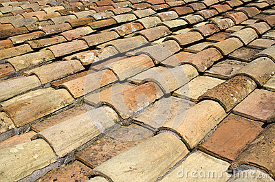 Tile roof of Rome