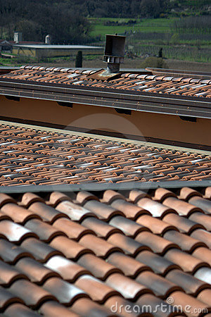 Tile roofs angles